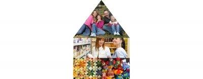 Hüte dich vor Falschen Freunden: Gestückelte Familien die gerne shoppen gehen