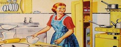 """Was bin ich? Kuriose englische Berufsbezeichnungen: Blitzeblank sauber! Wie es sich für gute """"Domestic Engineers"""" gehört."""
