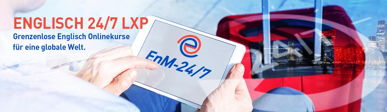EnM-24/7 Englisch Lernplattform mit KI und Microlearning