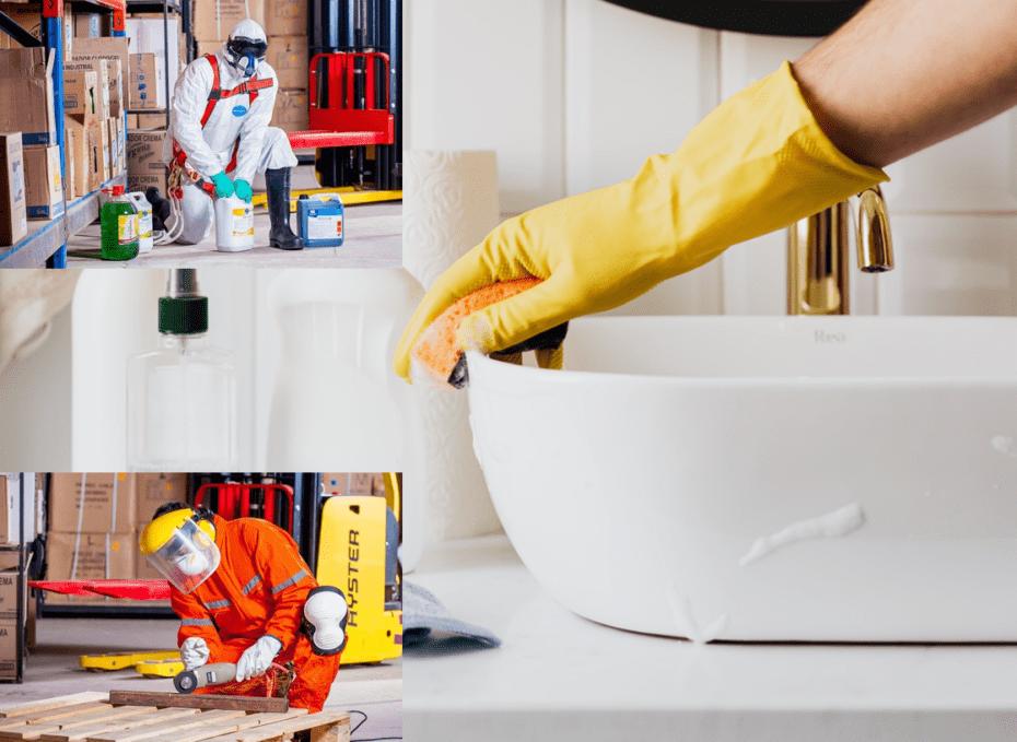 Englisch für Gesundheit Sicherheit Hygiene Arbeitsschutz