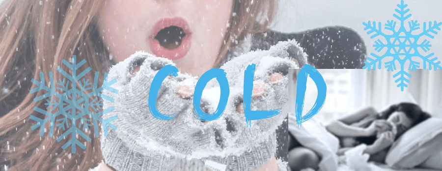 Erkältung oder Kälte. Cold is not cold. Learn English