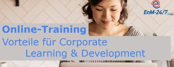 Online Training: Vorteile für Corporate Learning & Development