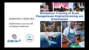 Passgenaues Englisch Training Beruf Webinar