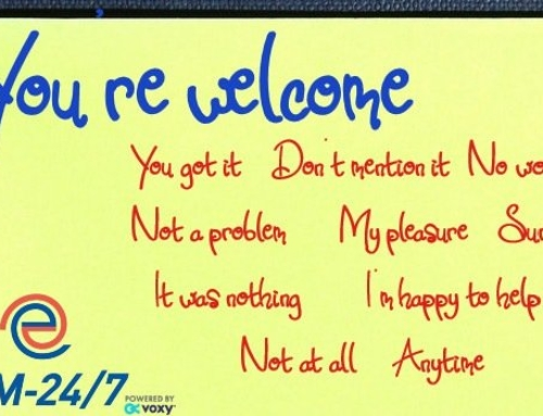"10 Ways to say ""You're welcome"""