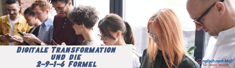 WEBINAR: Die 2-9-1-6 Formel und die digitale Transformation in der beruflichen Weiterbildung