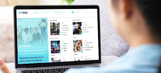 Inhalte EnM-24/7 powered by Voxy bietet einen riesigen, tagesaktuellen Inhaltskatalog,