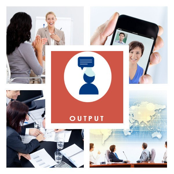 Englisch nach Maß Blended Learning Output