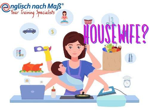 Housewife Hausfrau Hausfrauenehe