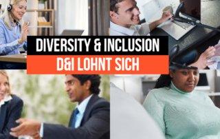 Diversität Inklusion Diversity Inclusion lohnt sich